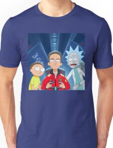 Logic Rick and Morty Unisex T-Shirt