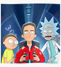 Logic Rick and Morty Poster