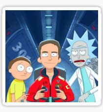 Logic Rick and Morty Sticker