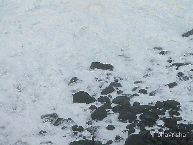 rocks & water by bhavrisha
