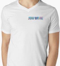 Camiseta para hombre de cuello en v John Wayne
