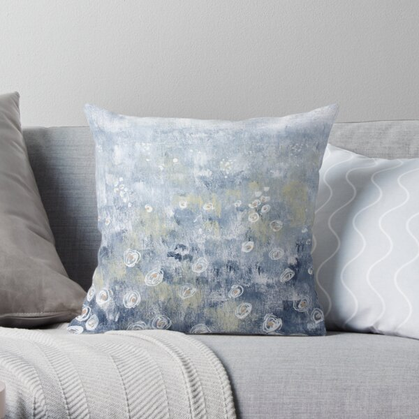 Seashells on the Shore II Throw Pillow