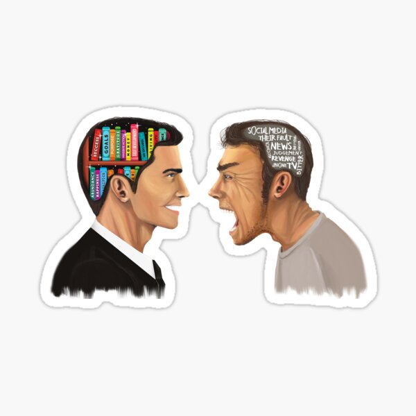 Create the best version of yourself! Sticker
