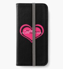 Beatrice Would Love Benedick Dearly iPhone Wallet/Case/Skin