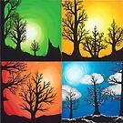 Shadows of the Seasons by morbidheart