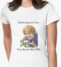 Hyacinth - Keeping Up Appearances Women's Fitted T-Shirt