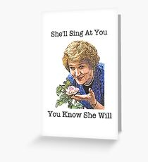 Hyacinth - Keeping Up Appearances Greeting Card