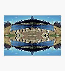 Reflective Photographic Print