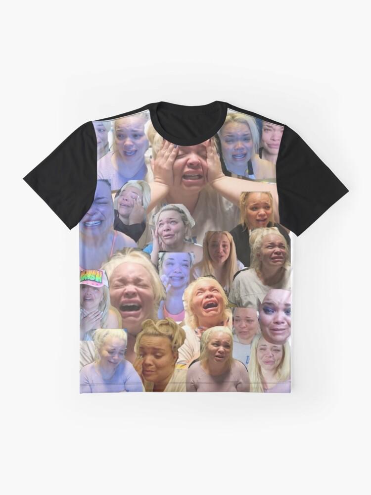 Vista alternativa de Camiseta gráfica Trisha Paytas