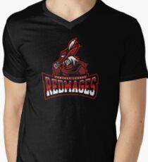 Fantasy League Redmages Mens V-Neck T-Shirt