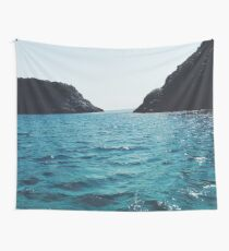 Blue Endless Wild Nature Wall Tapestry