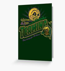 Greetings from Termina! Greeting Card