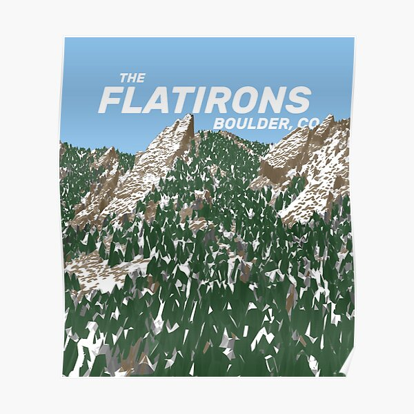 The Flatirons Poster