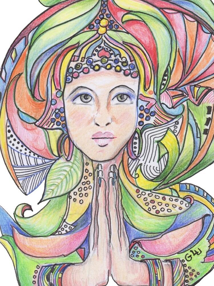 Namaste by GalleryGiselle