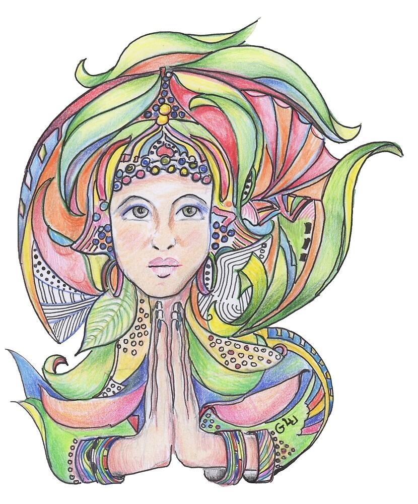 Namaste by Giselle Luske