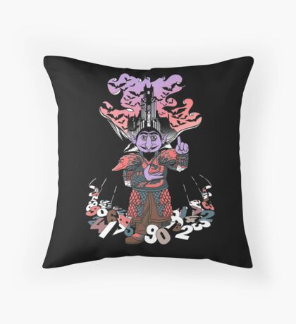 The Count untold. Throw Pillow