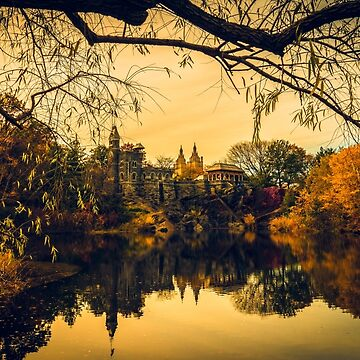 Autumn Reflections at Belvedere Castle by ChrisLord