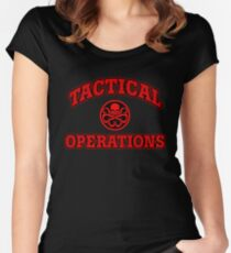 Tactical Operations Women's Fitted Scoop T-Shirt