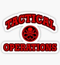 Tactical Operations Sticker