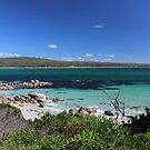 view at Burns Bay, Tasmania by gaylene