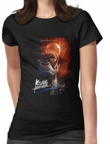 Mighty Kong Womens Fitted T-Shirt