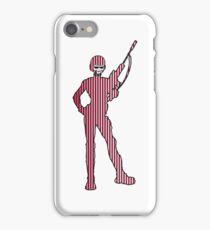 schütze gewehr soldat soldatin  iPhone Case/Skin