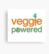 Veggie Vegetable Powered Vegetarian Canvas Print