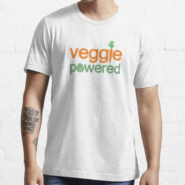 Veggie Vegetable Powered Vegetarian Essential T-Shirt