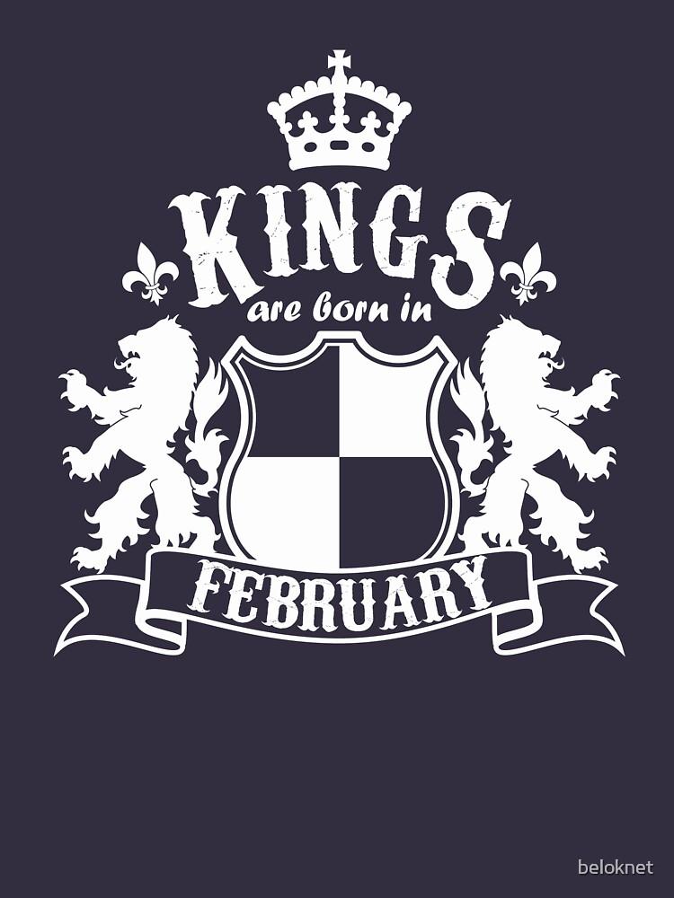 Kings are born in February by beloknet