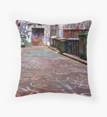 Let There Be Colour Throw Pillow
