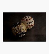 Baseballs Photographic Print