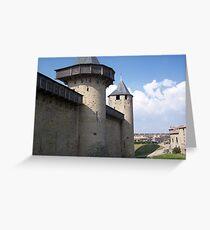 City walls Greeting Card