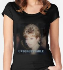 Lady D Princess Diana Women's Fitted Scoop T-Shirt