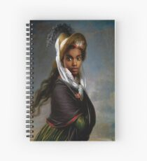 Portrait of a Young Caraweelo. Spiral Notebook