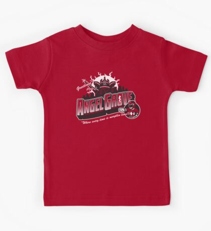 Greetings from Angel Grove! Kids Clothes