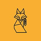 Native Fox by PaperPlanet