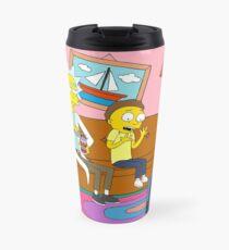 Yellow Rick Living Room Travel Mug