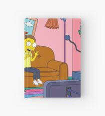 Yellow Rick Living Room Hardcover Journal