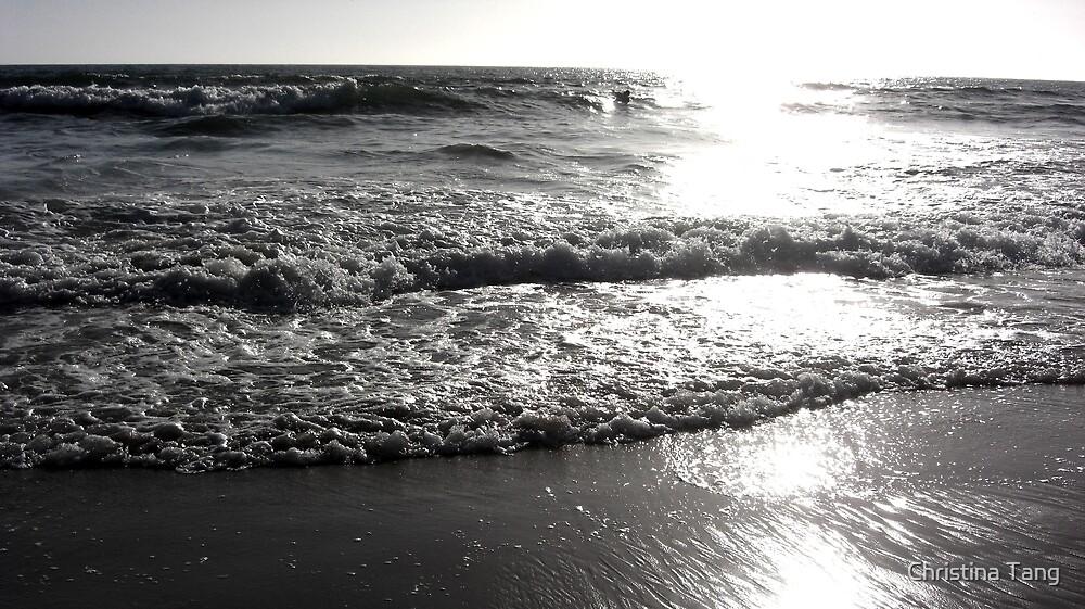 Ocean Waves by Christina Tang