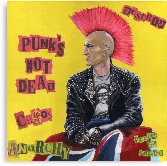 Punk & Disorderley by Andy  Housham