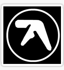 aphex twin logo Sticker