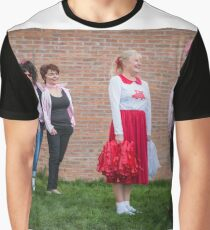 Hullywood Icons -  Anne Chatterton(Frenchie) Dianne Rees (Sandy) Zoe Allison (Rizzo) Claire Champlin (Jan), Beccy O'Sullivan (Marty). Graphic T-Shirt
