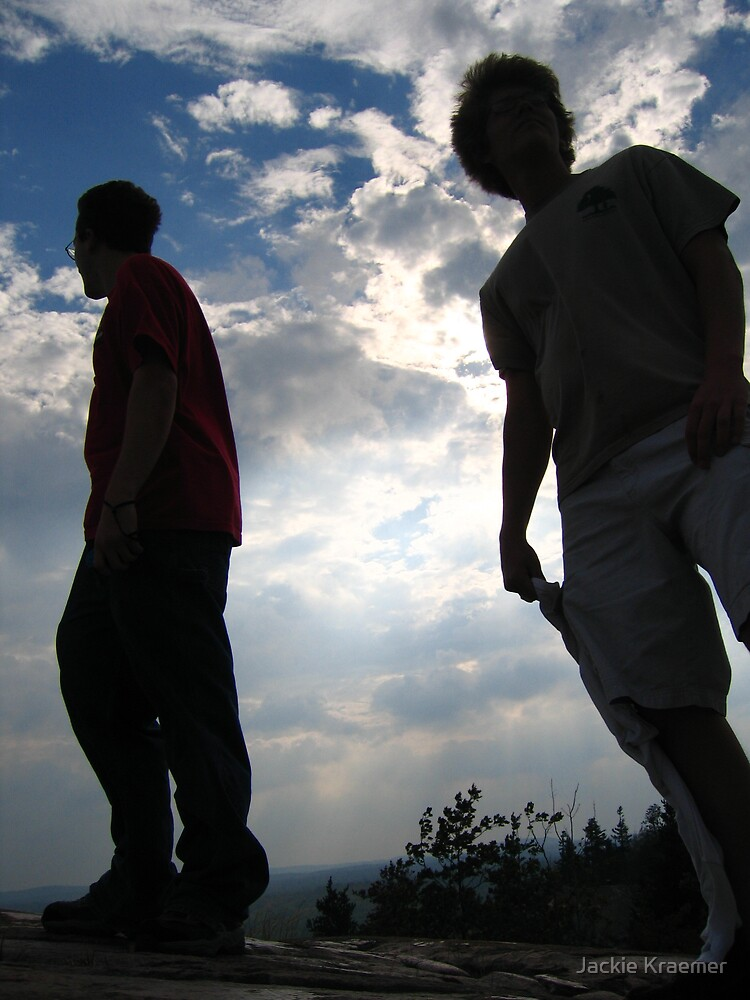 Boys Atop Hogsback Mountain by Jackie Kraemer