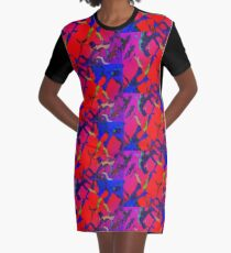 Massive alligator Graphic T-Shirt Dress