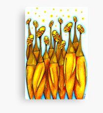 Bottle Neck Ladies Canvas Print