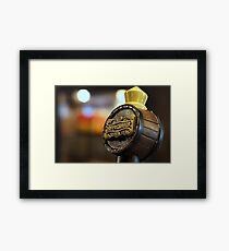 Butterbeer on Tap Framed Print