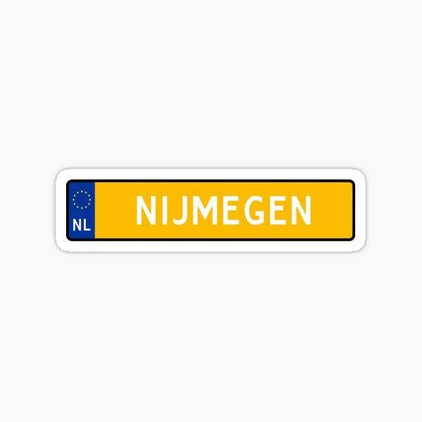 Nijmegen Kenteken Sticker