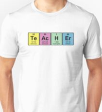 Science Teacher Chemical Elements Unisex T-Shirt