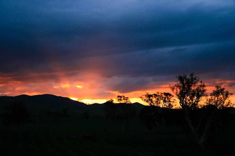 nice sunset by TimmyF