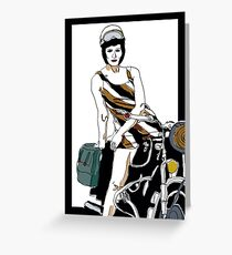Jules motor Greeting Card